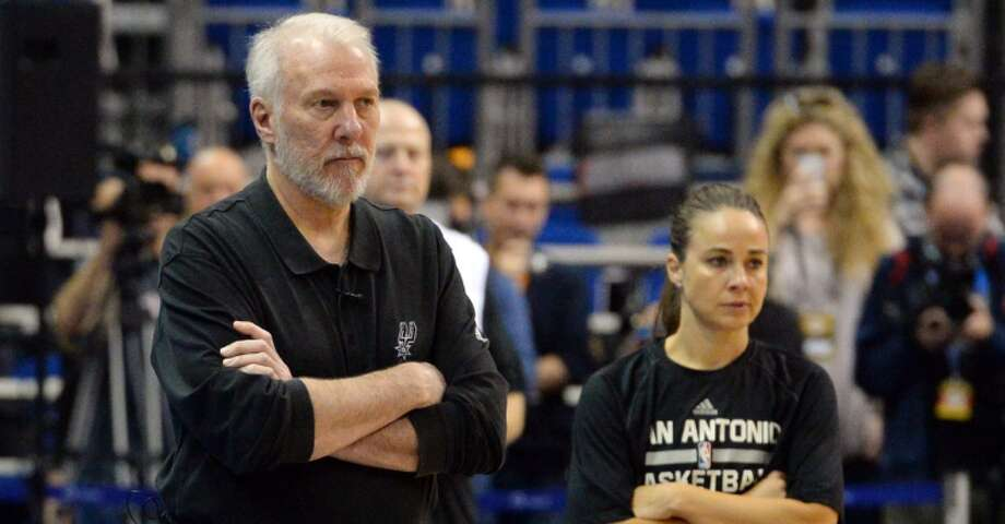 Spurs coaches Gregg Popovich and Becky Hammon both got nods from Bleacher Report this week.