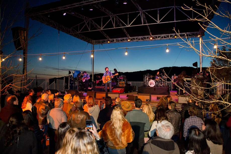 John Fogerty performed at a private benefit event Saturday, Nov. 11 at Hamel Family Wines in Sonoma that raised $1.2 million for victims of the Wine Country fires. Photo: Courtesy Hamel Family Wines