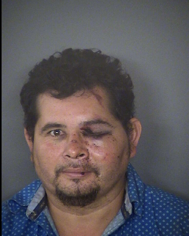 Jose Wilmer Orellana, 38, of Honduras, now faces a charge of failing to stop and render aid. He was booked into the Bexar County Jail on a $15,000 bond. Photo: Bexar County Jail