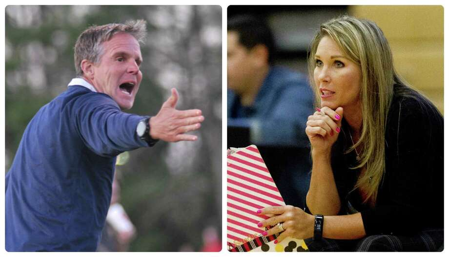 College Park boys cross country coach Mike Gibson and wife Candice Gibson, the school's volleyball coach, maintain a busy lifestyle. Photo: File Photos