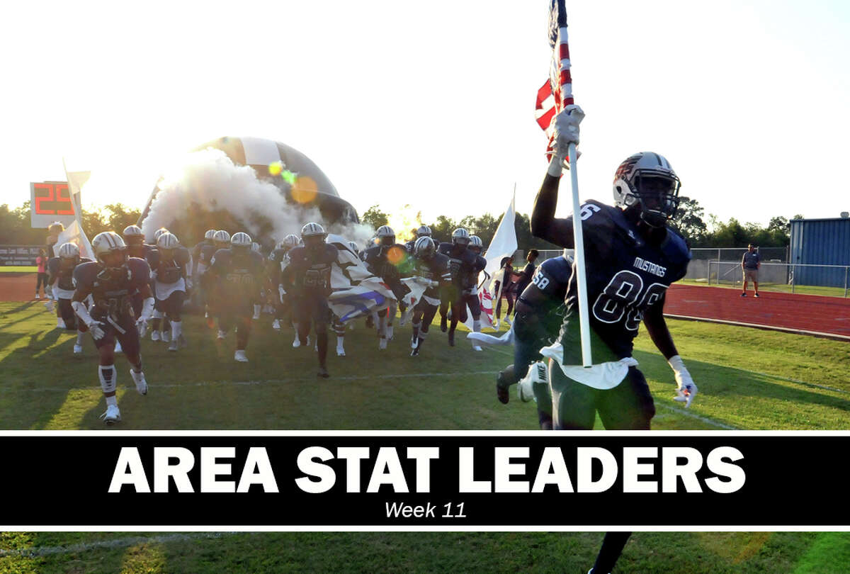 High School Football: Passing, rushing and receiving leaders for Week 11.