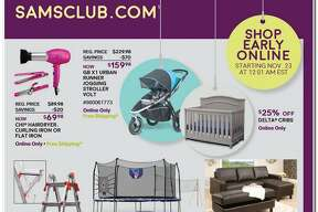 Sam's Club released its 2017 Black Friday ad circular and its 12 pages are packed with some of the season's top deals.