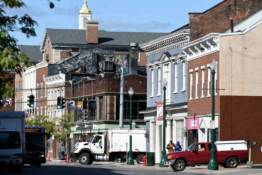 State Street at S. Church on Thursday, Oct. 12, 2017, in Schenectady, N.Y. (Will Waldron/Times Union) Photo: Will Waldron / 20041807A