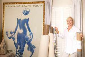 Susan Horne has set up a pop up shop of European decor from her Round Top shops -- Susan Horne Antiques -- at the River Oaks District, through Jan. 4