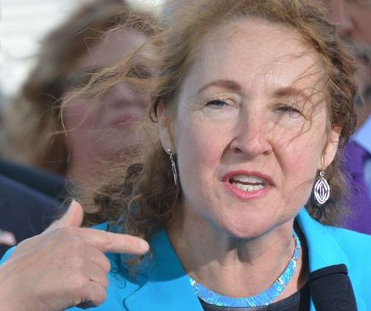 U.S. Rep. Elizabeth Esty speaks at an event in Washington in May.
