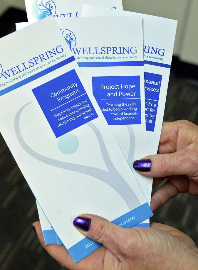 Brochures at Wellspring's offices Thursday Oct. 26, 2017 in Saratoga Springs, NY.  (John Carl D'Annibale / Times Union) Photo: John Carl D'Annibale / 20041959A