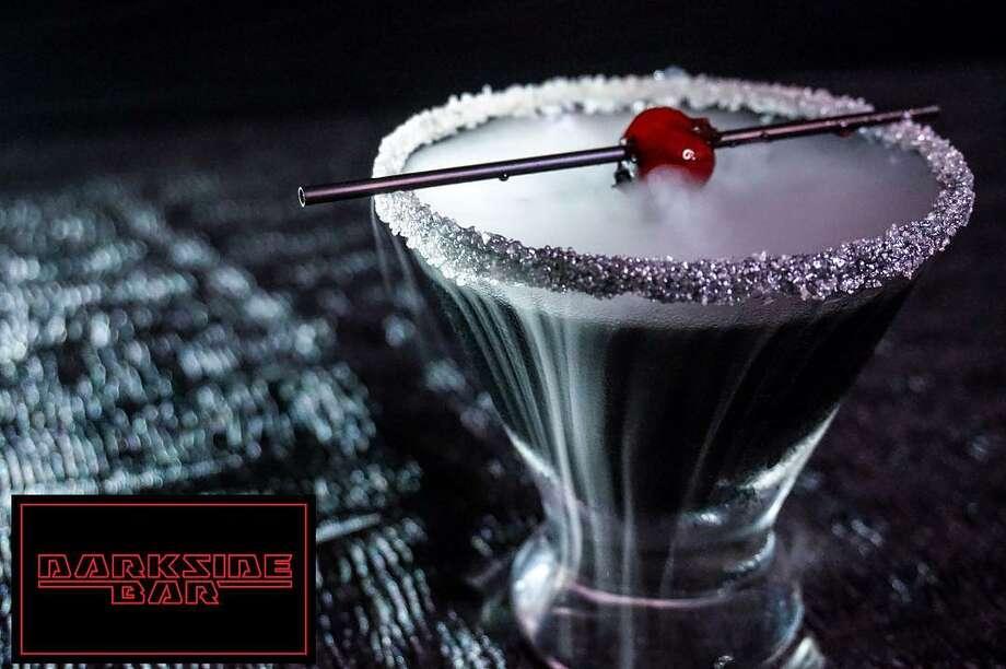 The Galaxy cocktail at the Darkside Bar. Photo: Courtesy Darkside Bar