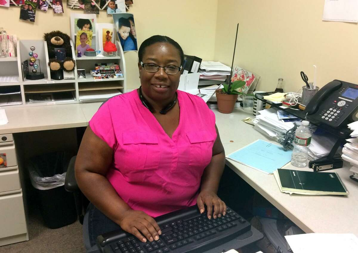 ---Latoya Lowery, a supervisor for the state Department of Children and Families (DCF) Norwalk office.
