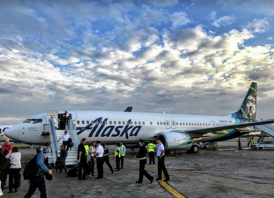 Alaska Airlines inaugural flight to Cuba, Jan 5, 2017 Photo: Chris McGinnis,  TravelSkills