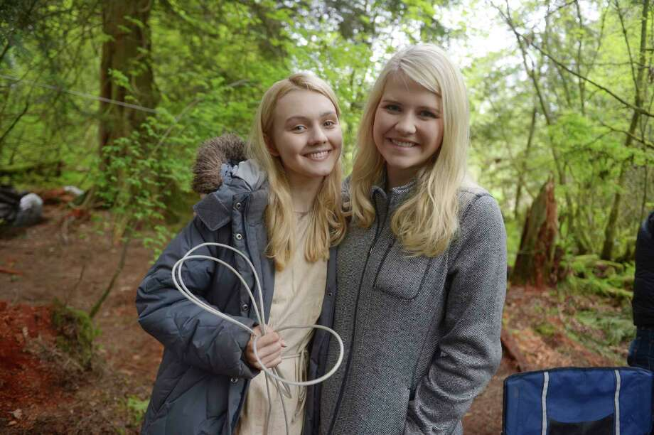 "This image released by Lifetime shows Alana Boden, left, with Elizabeth Smart on the set of ""I Am Elizabeth Smart,"" premiering Saturday, Nov. 18 at 8pm ET/PT on Lifetime. (Sergei Bachlakov/Lifetime via AP) ORG XMIT: NYET901 Photo: Sergei Bachlakov / ©Karen Epstein Photography 2017"