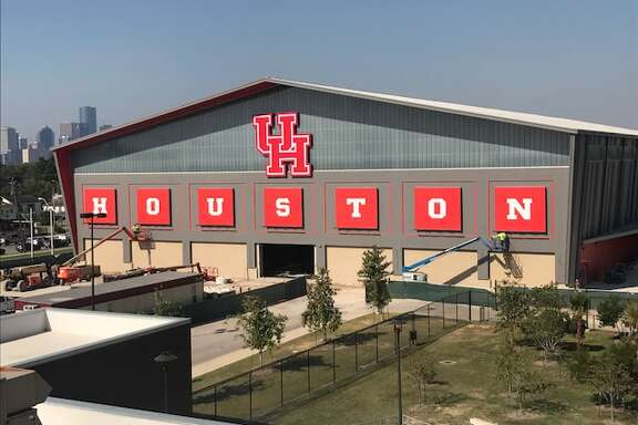 UH's new indoor football practice facility
