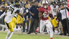Two years ago, Stanford's Bryce Love gained 56 yards on two carries as the Cardinal beat Cal 35-22.