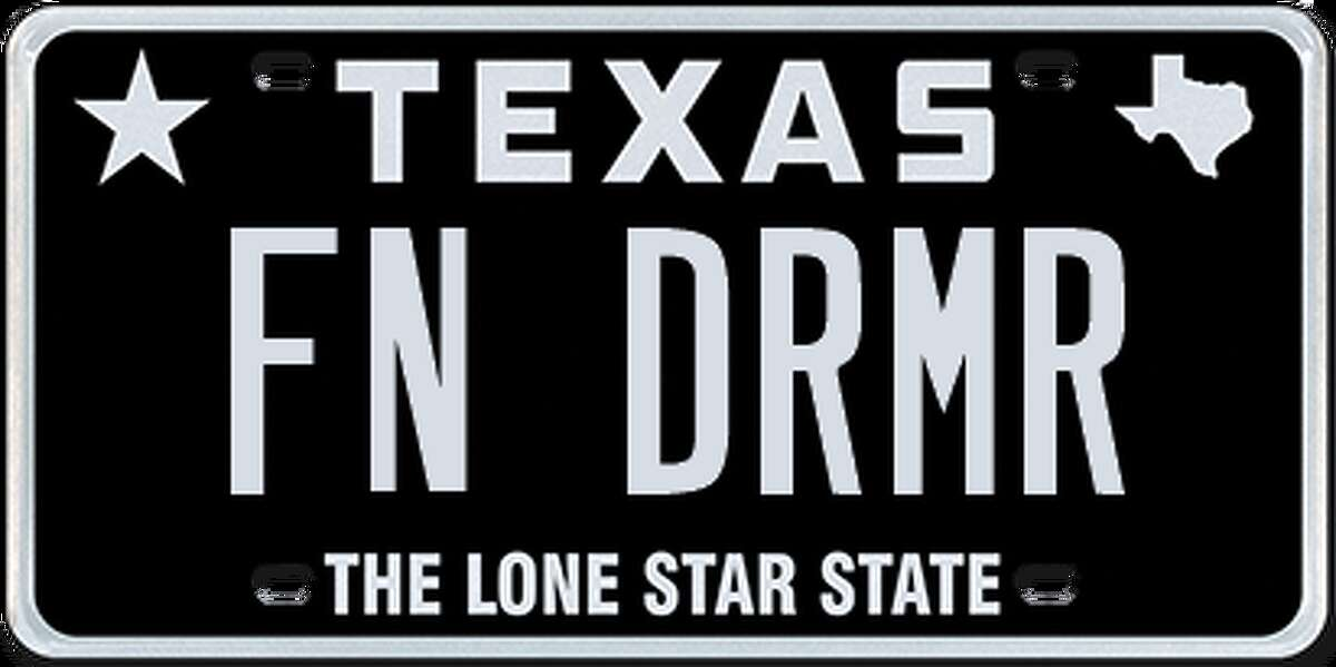 License plates rejected by the Department of Motor Vehicle in July and August, 2017.