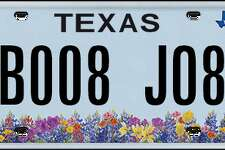 Licence plates rejected by the Department of Motor Vehicle in July and August, 2017.