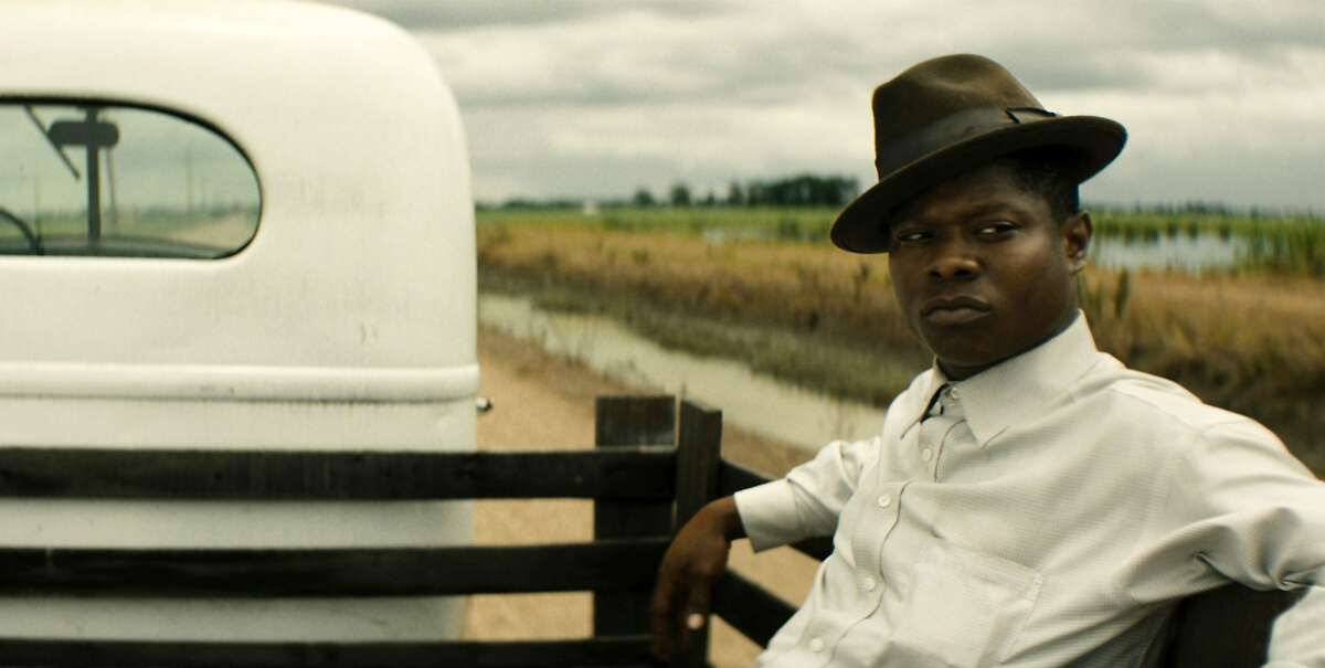 This image released by Netflix shows Jason Mitchell in a scene from