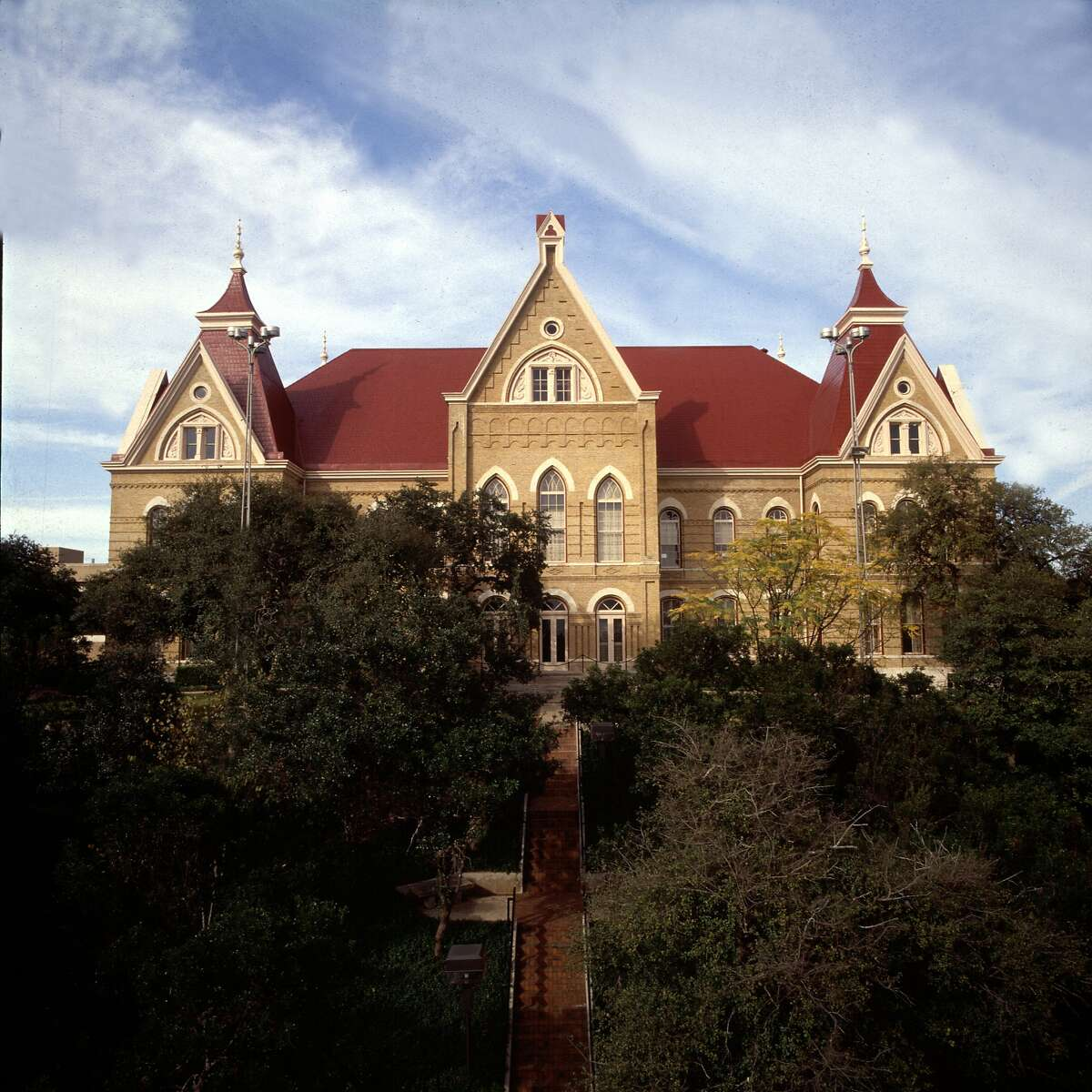 10. Texas State University The 33,531 undergraduates at Texas State University, excluding those taking only remote classes, make up 52.6 percent of San Marcos's population.  The school, currently operating a hybrid model, has reported 164 COVID-19 cases since classes started on Aug. 24.