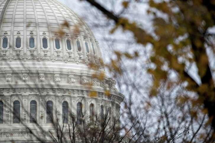 The U.S. Capitol stands in Washington, D.C. ( Andrew Harrer/Bloomberg)