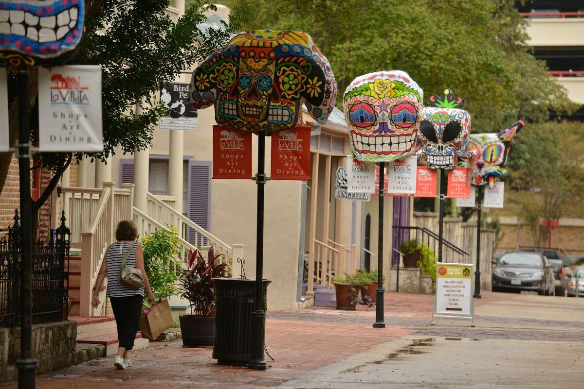 Improvements to La Villita:Repave Villita Street, King Phillip, the old Alamo Street