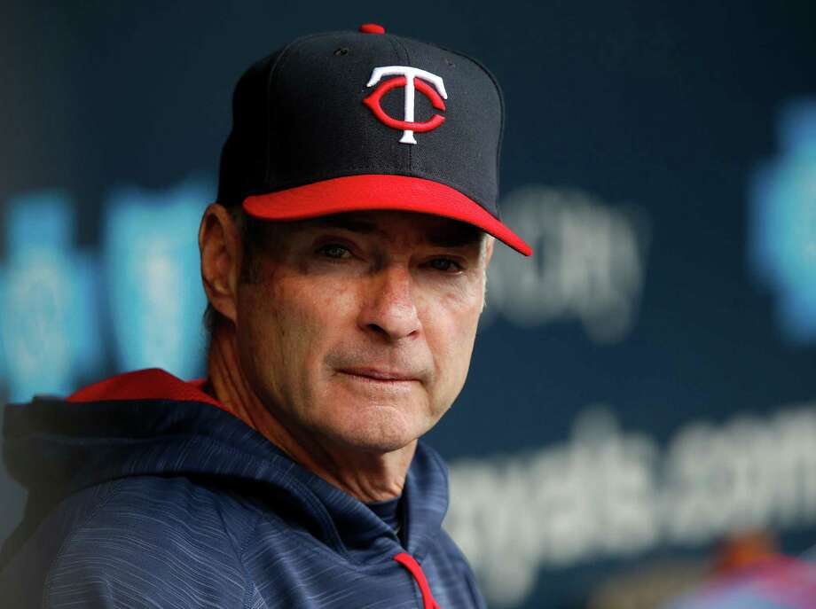 KANSAS CITY, MO - APRIL 30:  Manager Paul Molitor #4 of the Minnesota Twins watches from the dugout prior to the game against the Kansas City Royals at Kauffman Stadium on April 30, 2017 in Kansas City, Missouri.  (Photo by Jamie Squire/Getty Images) ORG XMIT: 700010603 Photo: Jamie Squire / 2017 Getty Images