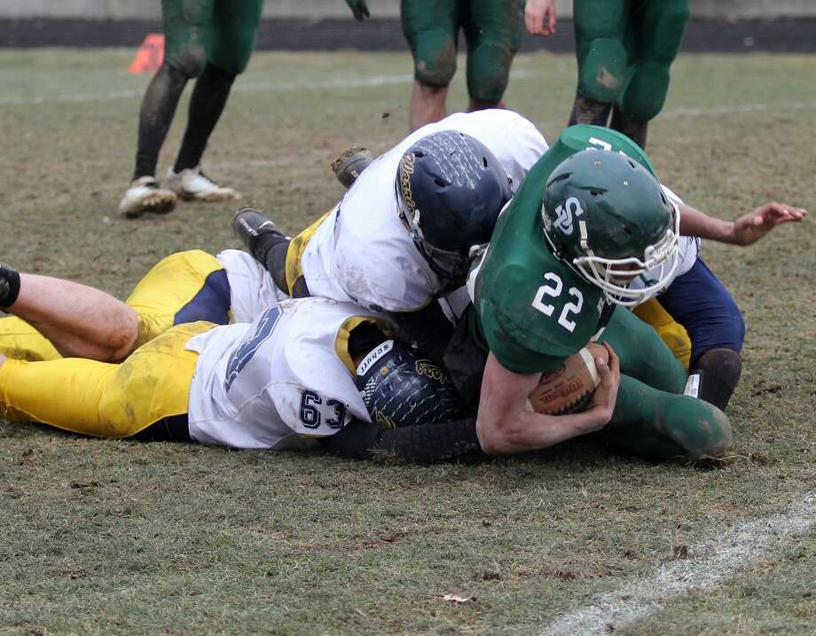 Portland St. Patrick 33, North Huron 14 Photo: Chip Burch/Huron Daily Tribune