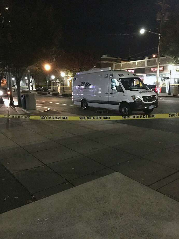 Police are investigating an armed robbery that left one victim hospitalized after they were shot at BAR in Stratford, Conn., on Nov. 14, 2017. Photo: Contributed Photo / Stratford Police Department / Connecticut Post Contributed