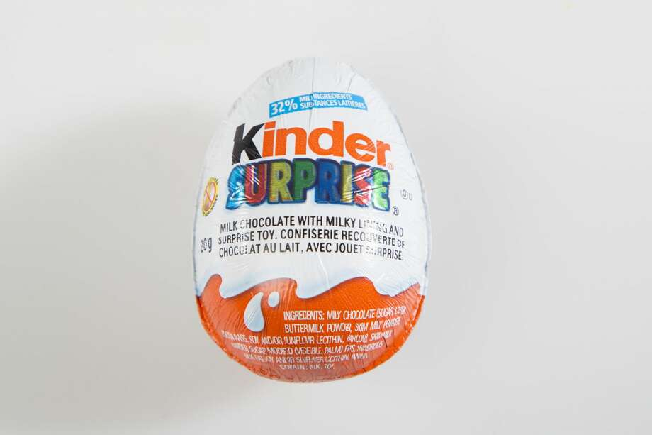 A modified version of the Kinder Surprise egg candy will be available at Walmart stores this coming holiday season.See a list of foods that have been banned or regulated in the U.S. Photo: Carlos Osorio/Toronto Star Via Getty Images