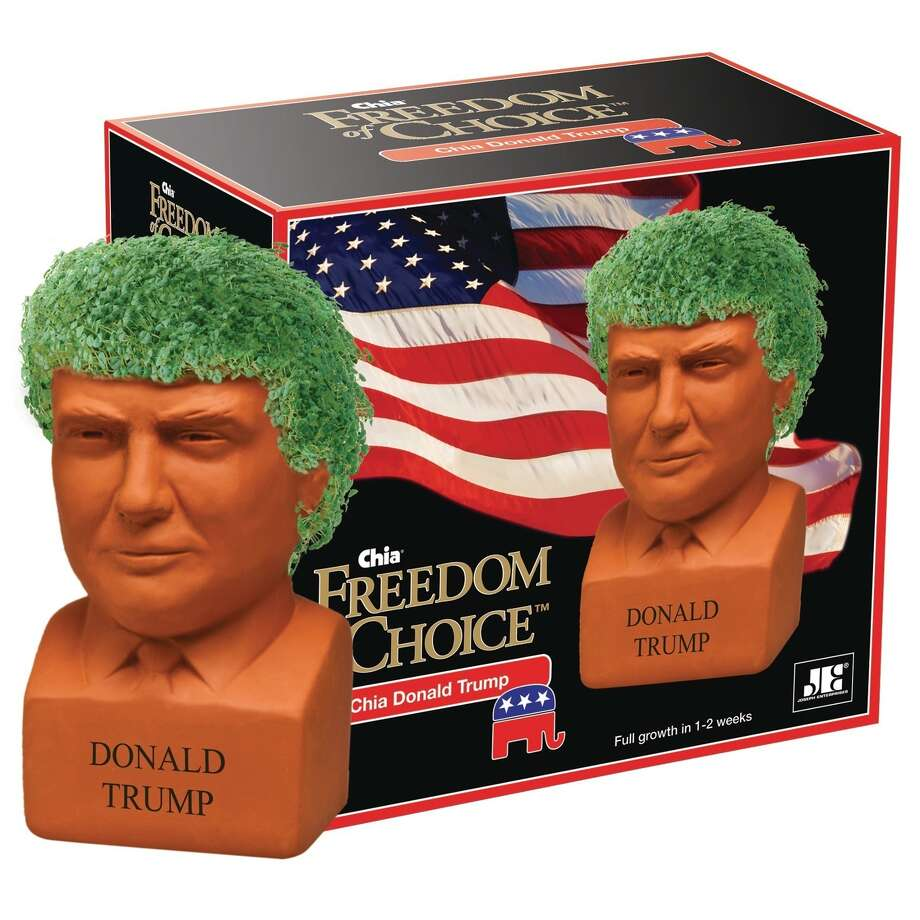 "The ""Freedom of Choice"" Chia Donald Trump. Photo: PR Newswire"