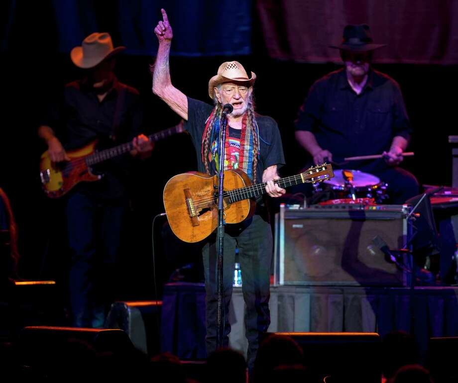 Willie Nelson plays for a packed audience at the Smart Financial Centre in Sugar Land on Nov. 14, 2017.See photos of Willie and all his famous friends... Photo: Annie Mulligan, Annie Mulligan / For The Houston Chronicle / @ 2017 Annie Mulligan & the Houston Chronicle