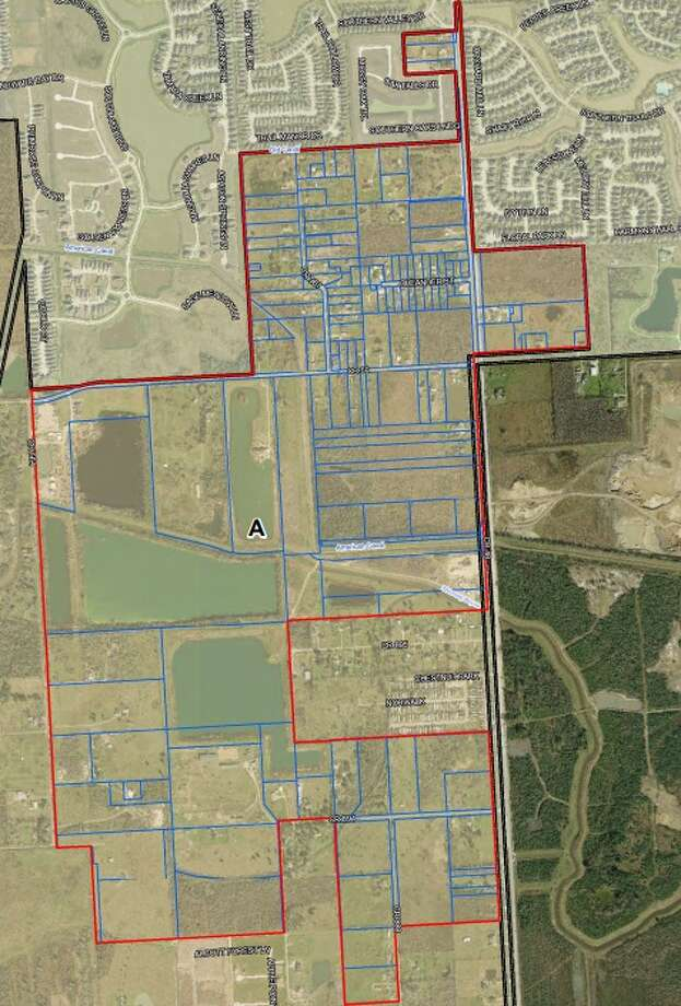 Annexation Area AArea south of Shadow Creek Ranch and east of Fresno, between CR 564 and CR 48. Photo: City Of Pearland