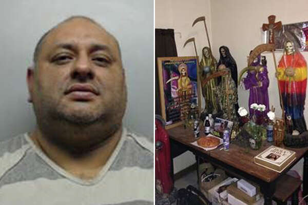Manuel Pedroza, 48, was arrested on charges of possession of controlled substance.