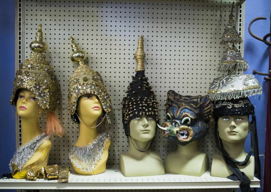 PHOTOS: The businesses Houstonians still miss Head pieces are seen in a row at Frankel's Costume Shop, which closed early this year after 67 years of business. This is Houston's first Halloween without the holiday costume staple. >>>See more Houston businesses that people still miss... Photo: Marie D. De Jesus/Houston Chronicle