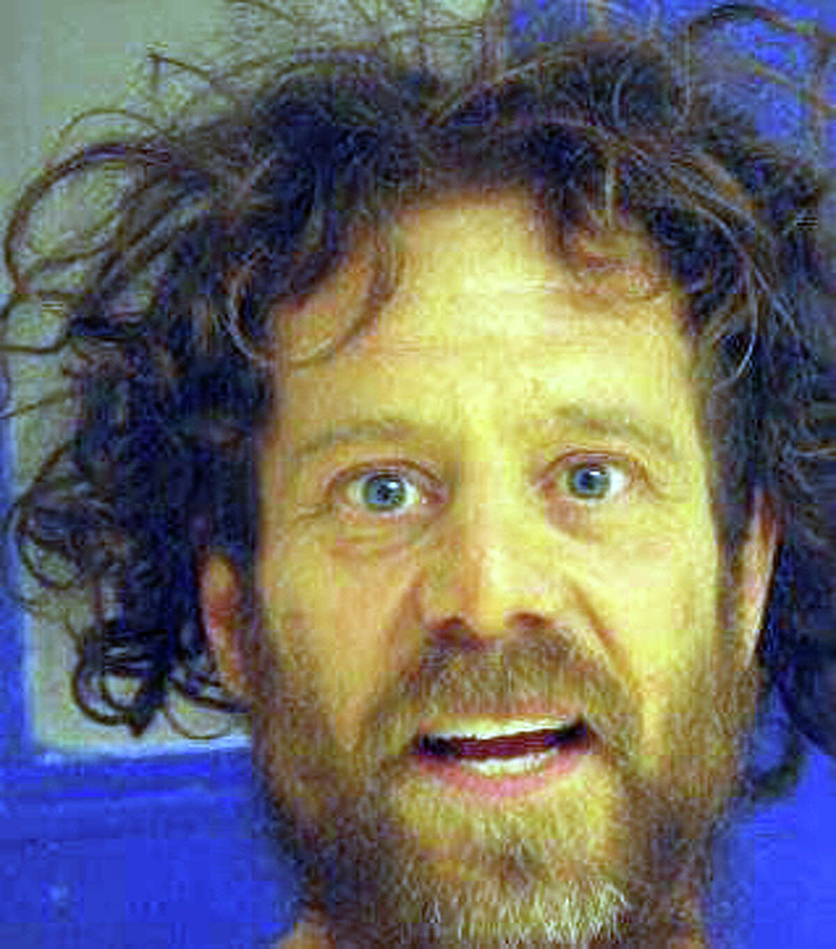 Shooting suspect Kevin Janson Neal in a booking photo after a previous arrest in Tehama County.