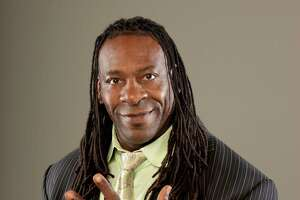 Robert Booker Huffman is a Houston native who became a world famous wrestler as Booker T. He retired from wrestling to become a commentator for the WWE.