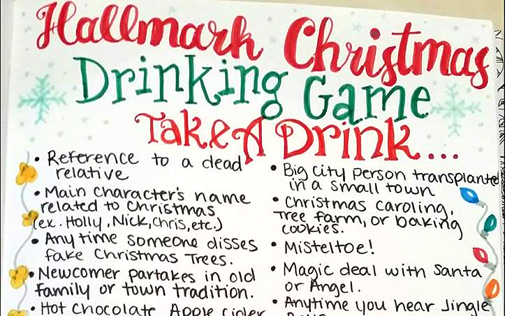 texas woman creates hallmark christmas movie drinking game houston chronicle