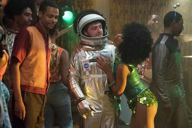 """Josh Futturman (Josh Hutcherson) in """"Future Man."""" (Erin Simkin/Hulu)"""