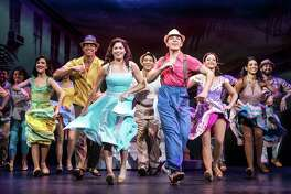 Christie Prades as Gloria Estefan, Adriel Flete and Company, ON YOUR FEET!