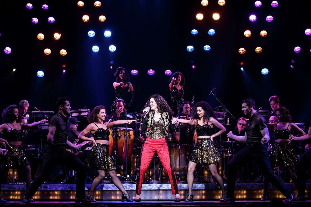 Christie Prades as Gloria Estefan and Company, ON YOUR FEET!