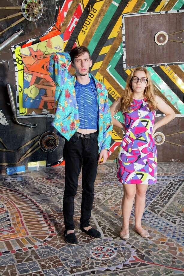 Houston electro-pop duo Space Kiddettes. Photo: Courtesy