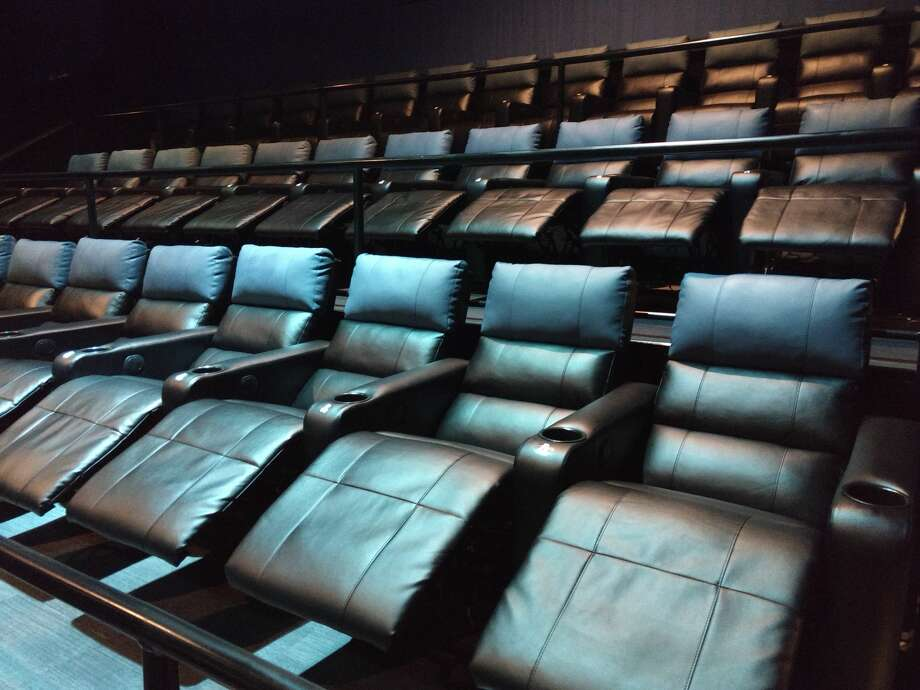 The Santikos Mayan Palace 14 Theater recently underwent renovations, which include upgrades to seating, the lobby and more drink options. Photo: Courtesy, Santikos