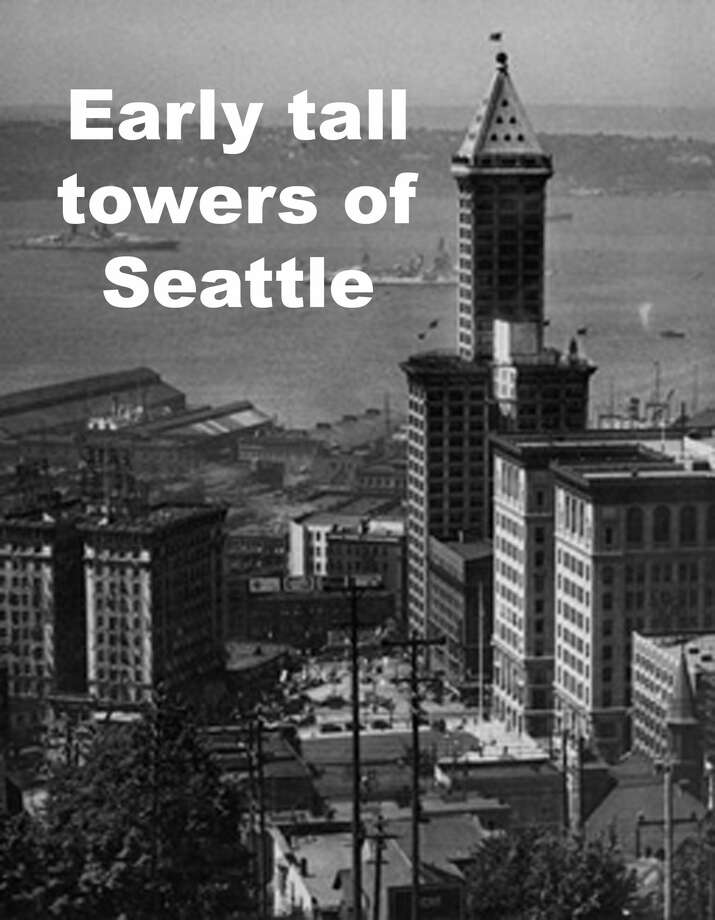 Click through to see some of the tallest skyscrapers of Seattle. Photo: P-I File