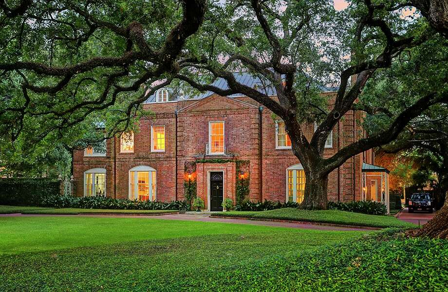 The home at 3229 Groveland Lane in River Oaks is now listed at $10.5 million. Photo: TK Images