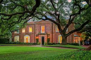 The home at 3229 Groveland Lane in River Oaks is listed at $14.8 million.