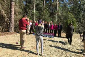 Ground breaking ceremony for The Woodlands Hills