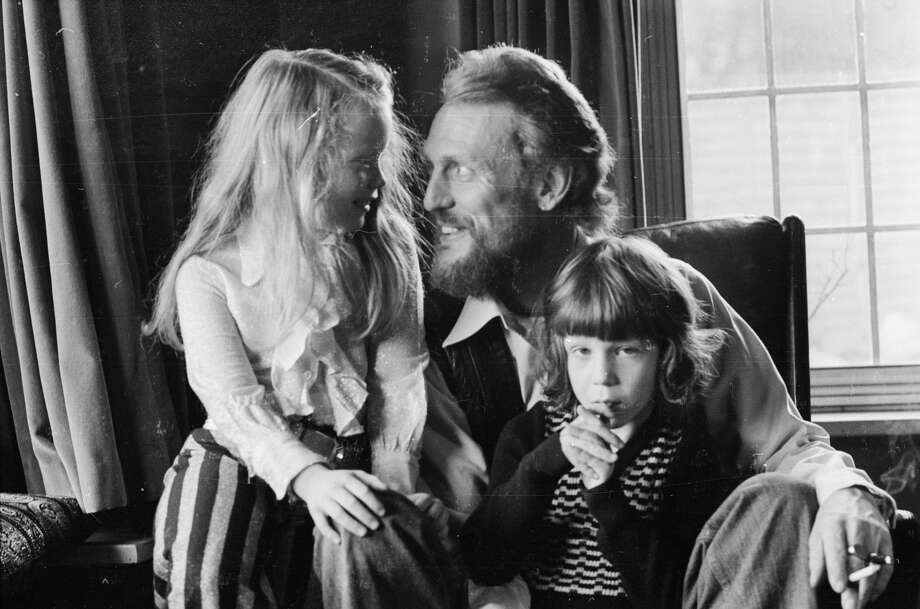 December 1974:  British rocker Ginger Baker, who made his name as the drummer in Cream, at home with his children.  (Photo by D. Morrison/Express/Getty Images) Photo: D. Morrison/Getty Images