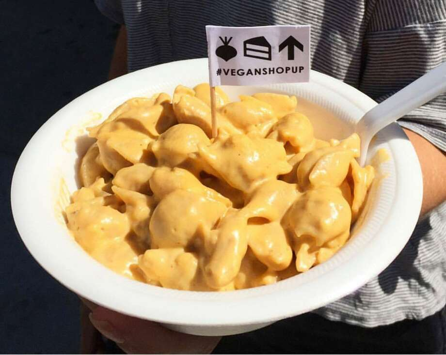 "Cake Thieves will be featuring its vegan take on mac and cheese, as well as its doughnuts, cookies and other foods at a vegan ""Friendsgiving"" pop-up event on Brick at the Blue Star Arts Complex from 6 to 9 p.m. Nov. 22. Cake Thieves is co-hosting the event with Melody Mala. Photo: Courtesy Photo"
