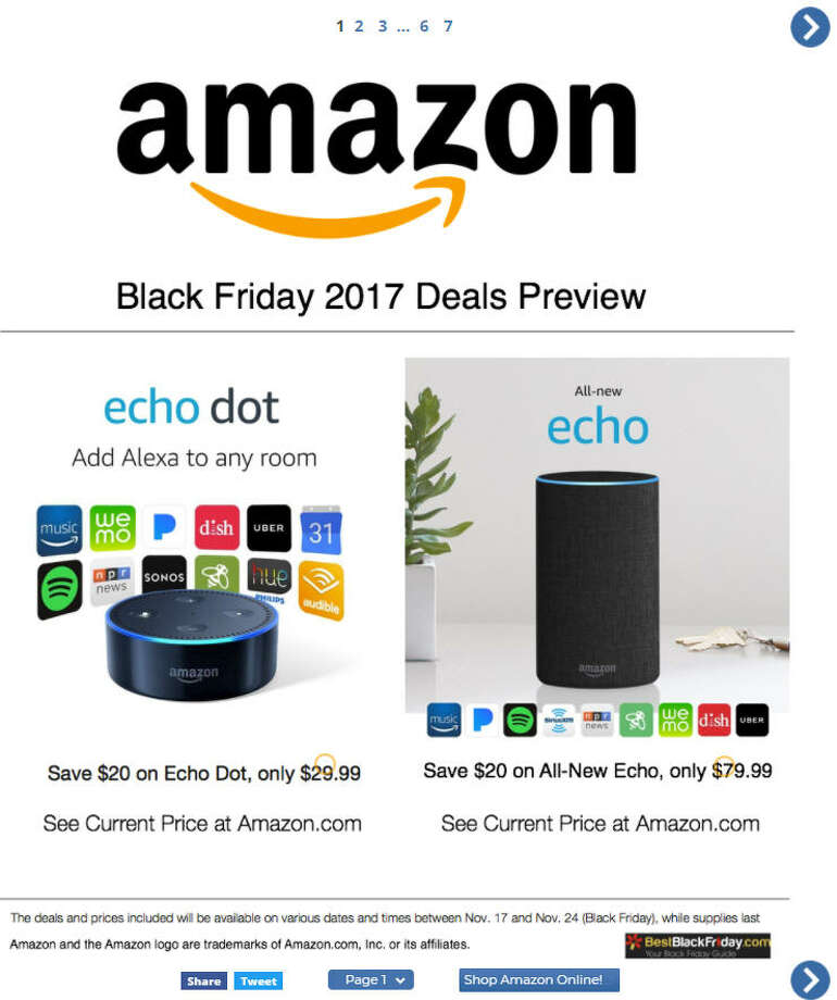 Bestblackfriday.com has transformed some of Amazon's best Black Friday offerings into easy to read ads. Photo: Bestblackfriday.com