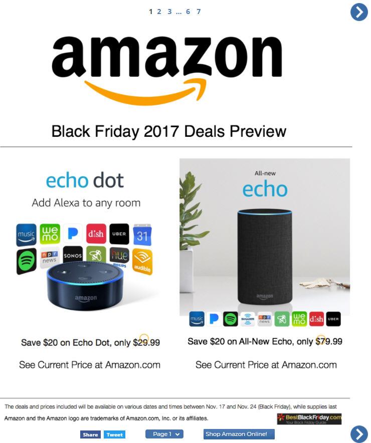 Amazon Black Friday Ad