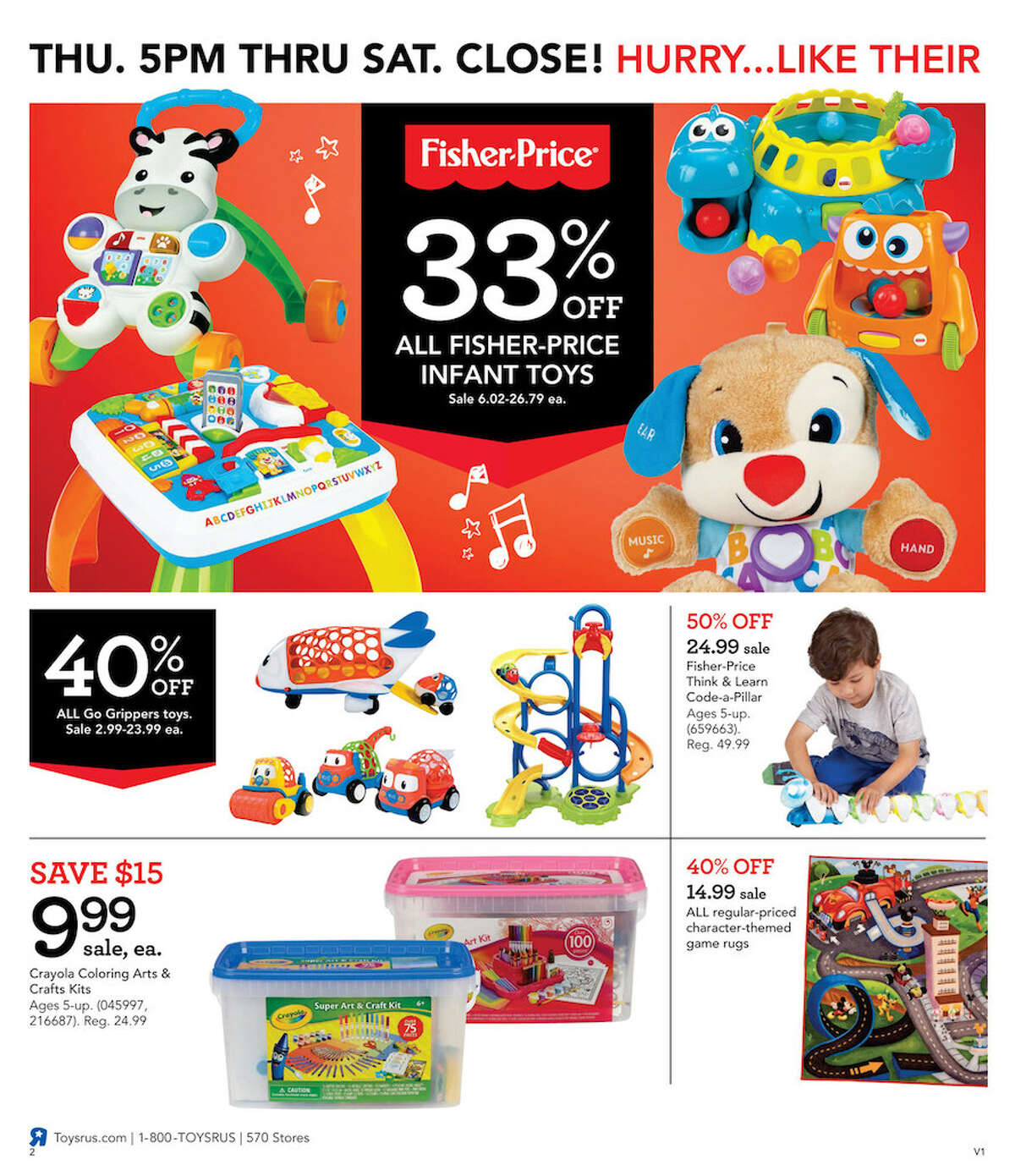 Despite a rocky year one of America's most well known toy stores, Toys 'R' Us has released 28 pages worth of Black Friday deals.