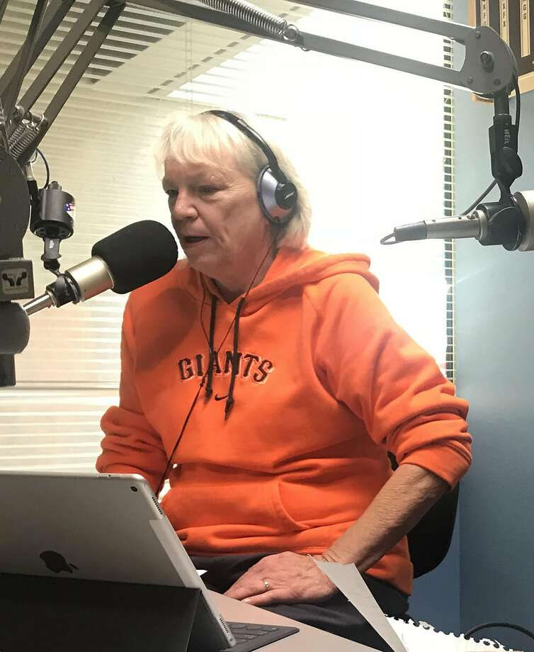 Pat Kerrigan anchored KSRO's wildfires coverage. Photo: Cathy Slack