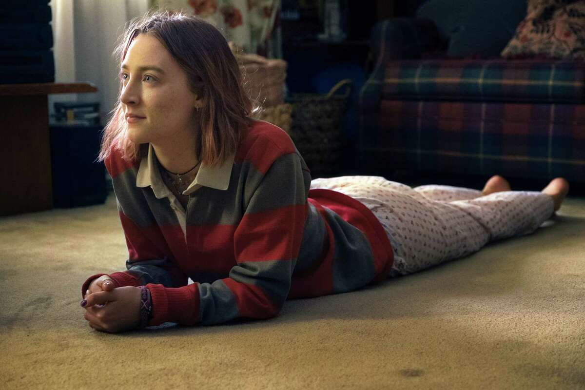 This image released by A24 Films shows Saoirse Ronan in a scene from